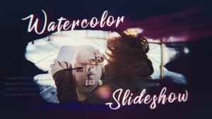 Ink Watercolor Slideshow