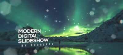 Modern Digital Parallax Slideshow | Opener
