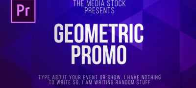 Geometric Title & Lower thirds