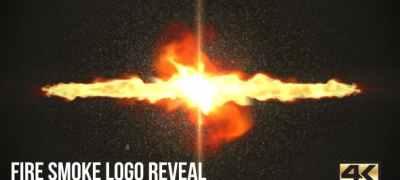 Fire Smoke Logo Reveal