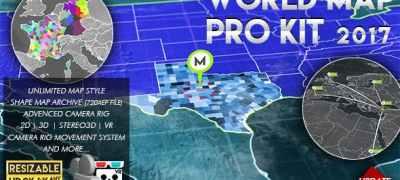 World Map Pro Kit