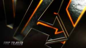 Movie Trailer And Logo Opener 3D