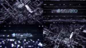 Futuristic Hi Tech Glitch Reveal