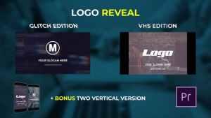 Logo Reveal - VHS & Glitch Edition