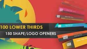 LowerThird Shape Opener
