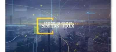 Modern Parallax Cinematic Slideshow