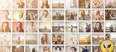Mosaic Pop Photos Displays