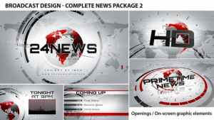 Broadcast Design - Complete News Package 2