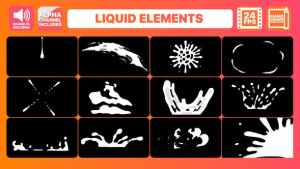 Liquid Motion Elements Pack