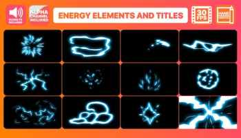 After Effects Projects | Download Flash FX Electric Elements