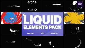 Liquid Elements And Transitions | After Effects