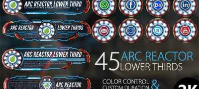 45 Arc Reactor Lower Thirds