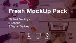 Fresh Mockups Pack