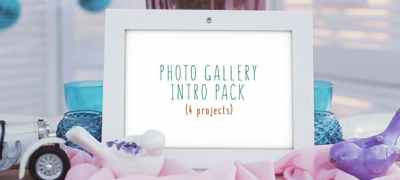 Photo Gallery Intro Pack
