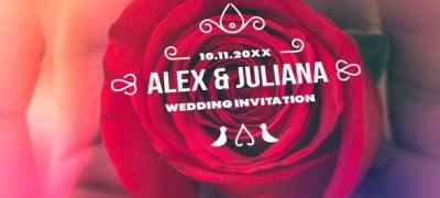 Minimal & Luxury Wedding Titles