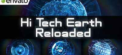 Hi Tech Earth Reloaded / Element 3D