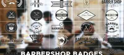 Barbershop Badges