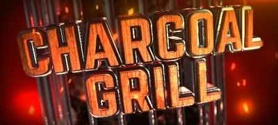 Charcoal Grill Logo Reveal