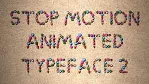 Stop Motion Typeface II