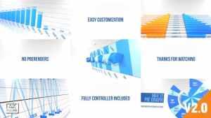 Infographics Element 3D