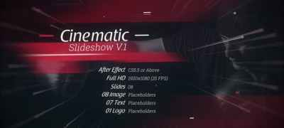 Cinematic Slideshow V.1