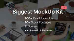 Biggest MockUp Kit // Digital Device Mockups