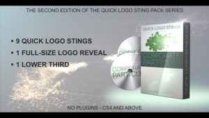 Quick Logo Sting Pack 02: Corporate Particles