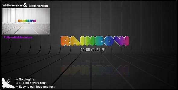 Download Rainbow Logo – FREE Videohive