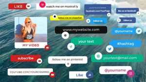 Social Media Info Box