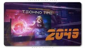 Techno Time 2049 Media Opener