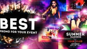 Colourful Party/Event - Disco Night Club Promo