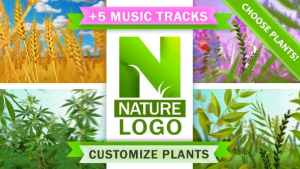 Nature Eco Plants Logo