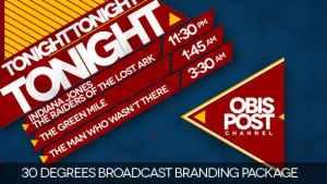 30 Degrees - Broadcast Branding Package
