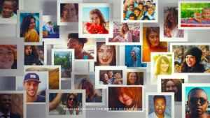 Multi Photo Frames Logo Opener
