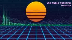 80s Audio Spectrum