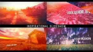 Inspirational Parallax Slideshow