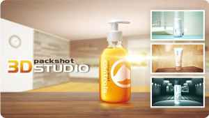 3D Packshot Studio