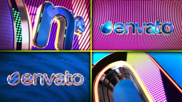 Download Arcade Lights Logo – FREE Videohive