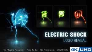 Electric Shock Logo Reveal
