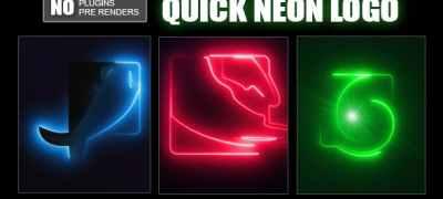 Quick Neon Logo