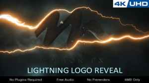 Lightning Logo Reveal