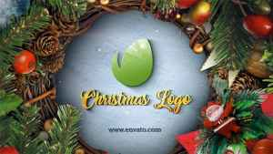 Christmas & New Year Logo
