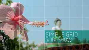 Simple Grid Slideshow