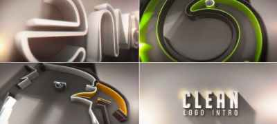 Clean Logo Intro