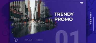 Trendy Modern Promo