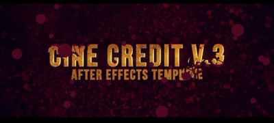 Cine Credit V.3