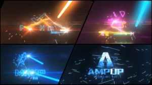 Laser Blast Logo Reveal