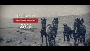 History Parallax Slideshow