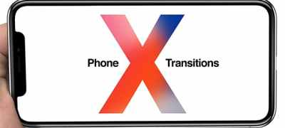 Phone X Transitions