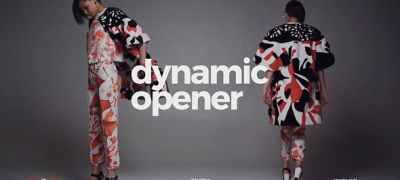Dynamic Opener / Fast Stomp Typography / Fashion Event Promo / Clean Rhythmic Intro